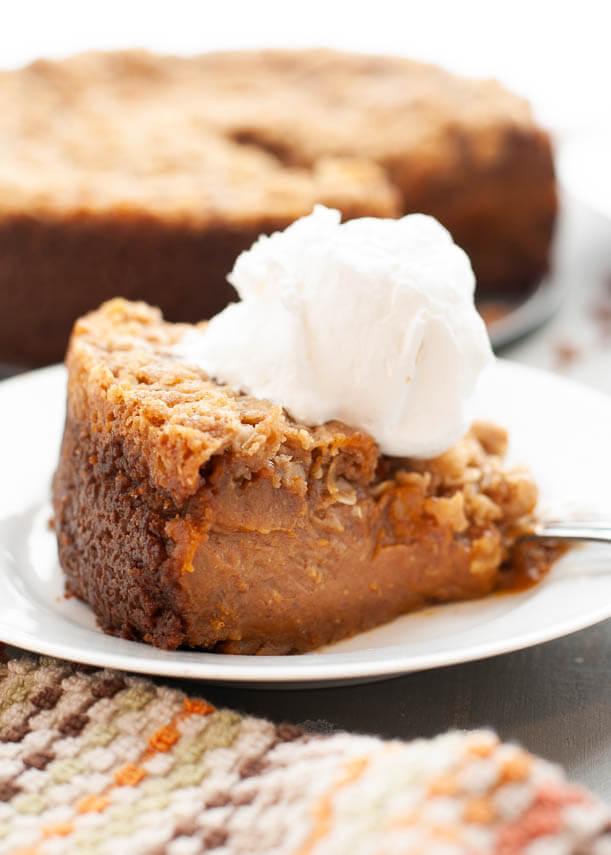 vegan-pumpkin-crumble-pie