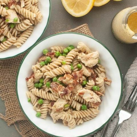 Gluten-and-Dairy-Free-Creamy-Bacon-Pea-and-Lemon-Pasta-Salad