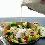 greek-chicken-salad-with-vegan-tzatziki-sauce