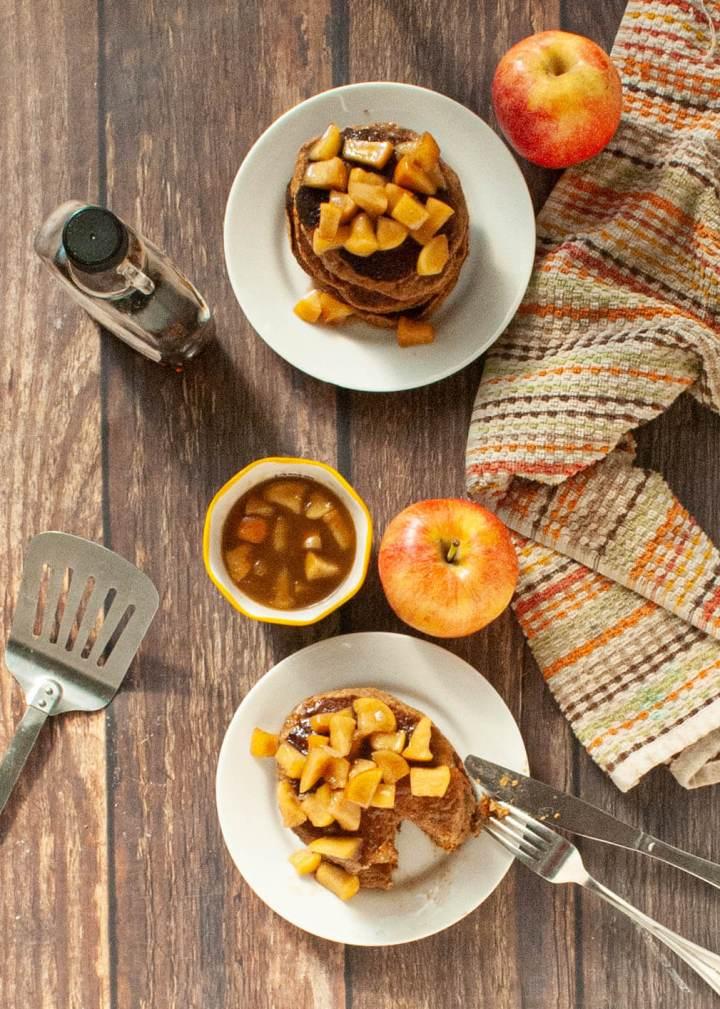apple-cinnamon-oatmeal-pancake-recipe