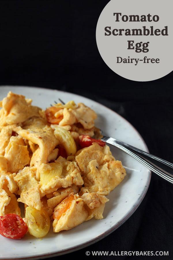 Tomato scrambled egg.