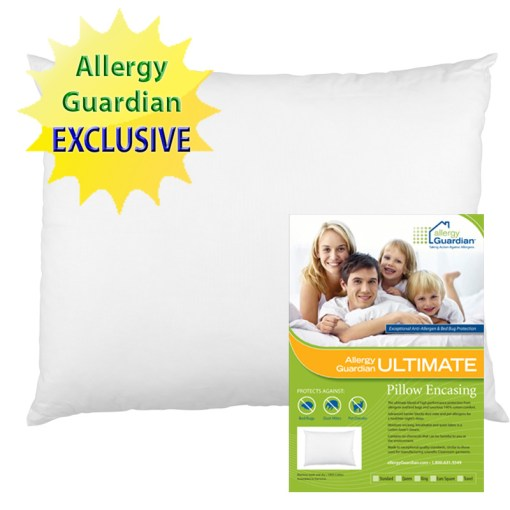 Exclusive Allergy Guardian ULTIMATE Pillow Encasings