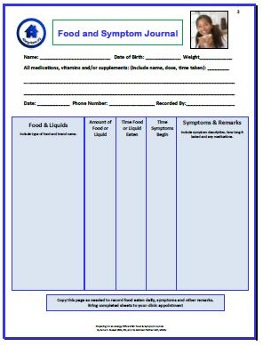 Using a Food Diary to Sort Out Food Allergies