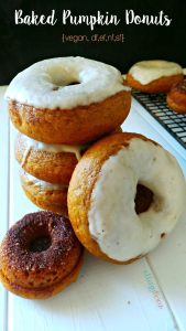 Enjoy pumpkin all year round! Melt in your mouth, Baked Pumpkin Donuts.