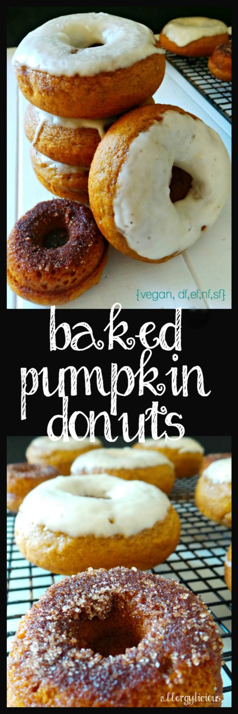 Melt in your mouth, baked pumpkin donuts