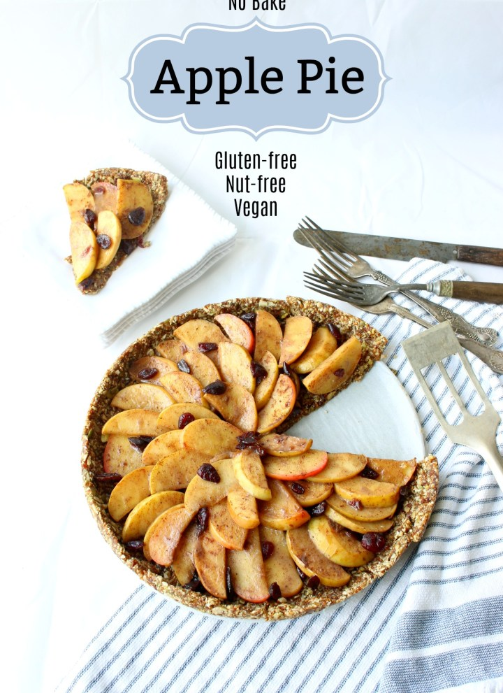No-Bake Apple Pie {gluten-free, vegan, nut-free}