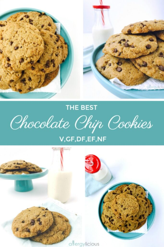 Our families favorite Gluten-free, allergy-friendly chocolate chip cookies