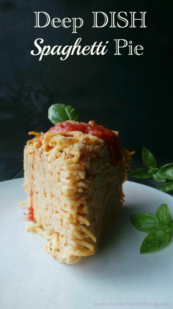 Deliciously easy meal to make, especially if you have a bunch of left over spaghetti