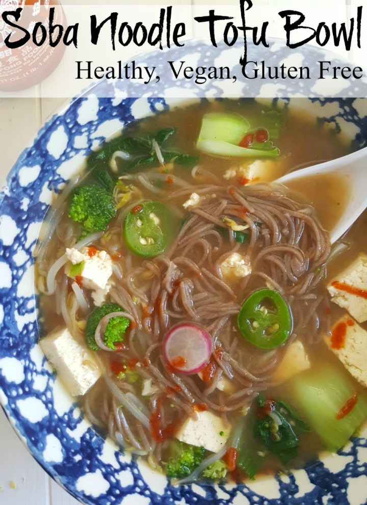 Soba Noodle Tofu Bowl