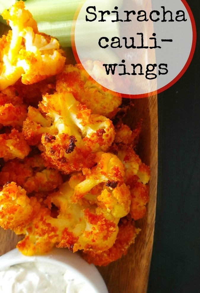 Sriracha Cauliflower Wings