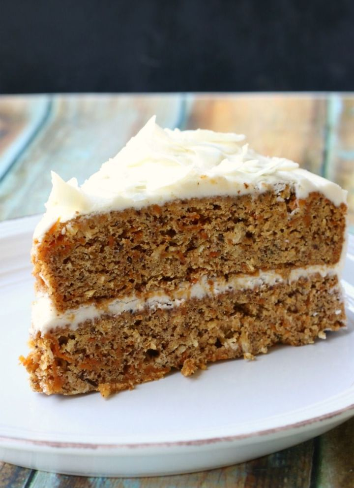 Crazy Good Vegan Gluten-free Carrot Cake {nut-free}