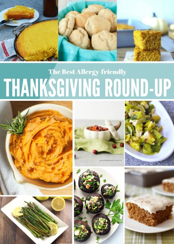 The Best Allergy-friendly Thanksgiving Round-Up