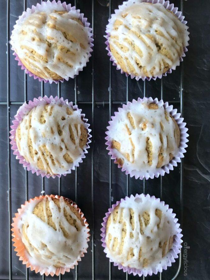 Maple Glazed Donut Muffins