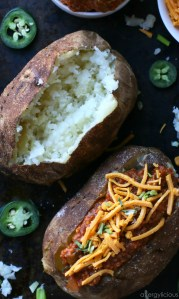 Load up those baked potatoes with a hearty topping of Whole30 Vegan Sloppy Joes