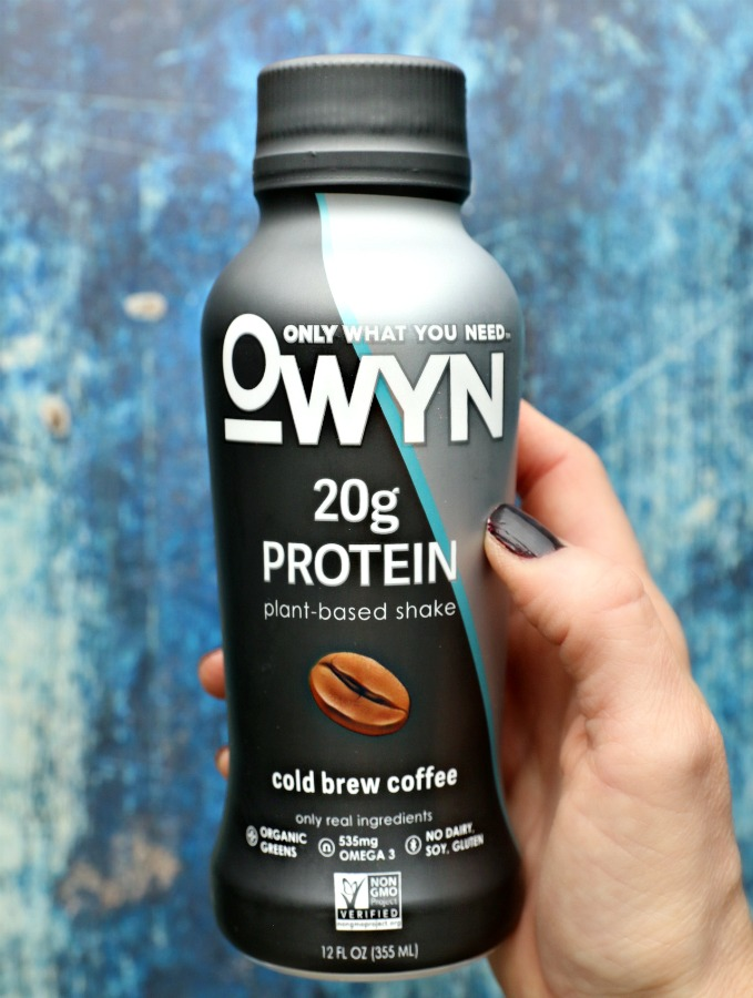 Smooth, rich, Cold Brew Coffee Protein Drink by OWYN...plant-based, allergen-free and unbelievably delicious.