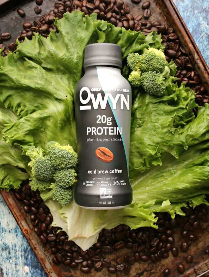 Cold Brew Coffee Protein Drink by OWYN...plant-based, allergen-free and unbelievably delicious.