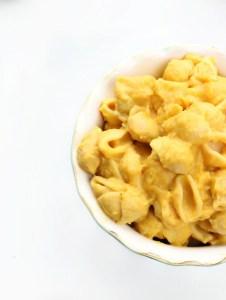 Vegan gluten-free mac and cheese