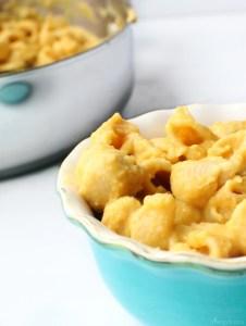 Grab a bowl of vegan mac and cheese