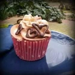 Gluten Free, Vegan Banana Chocolate Cupcakes