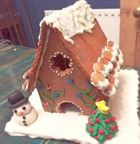 Vegan Gingerbread House