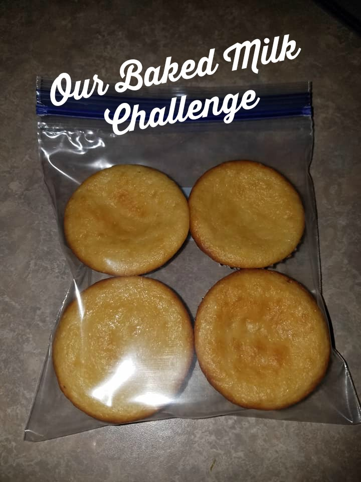 Our Baked Milk Challenge