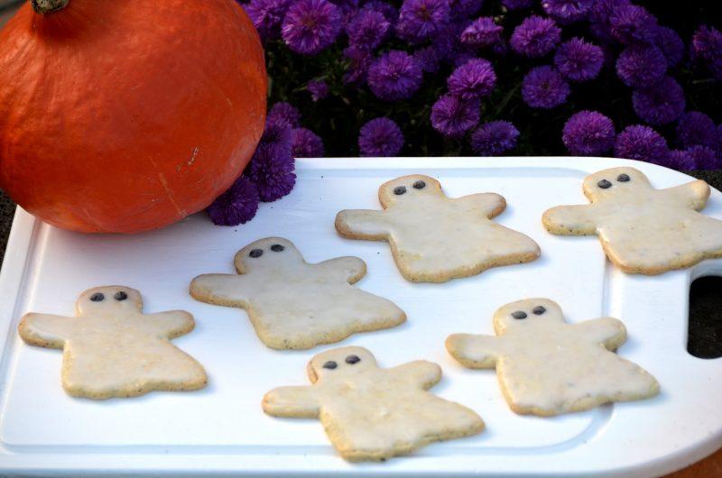Süßes oder Saures? – Halloween Gespenster Kekse!