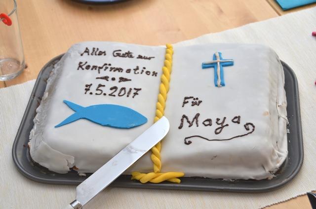 Ideensammlung: Kuchen zur Konfirmation / Kommunion