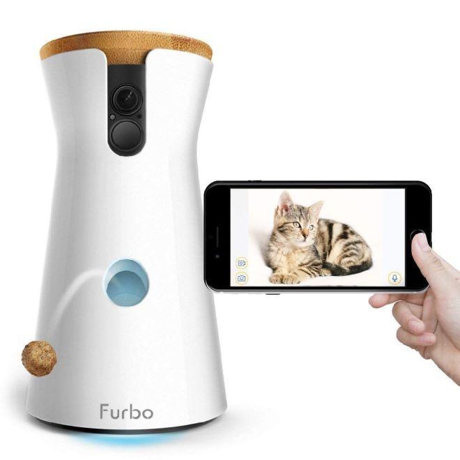 Überwachungskamera für Katzen und Hunde mit App
