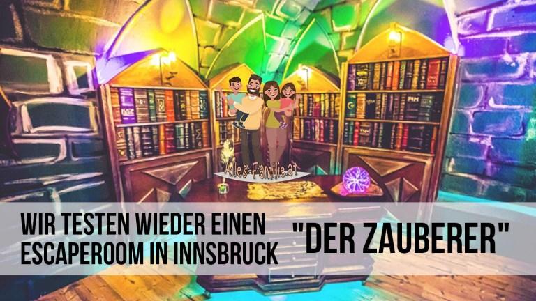 Escape Room Test Innsbruck – Testfamilie gesucht