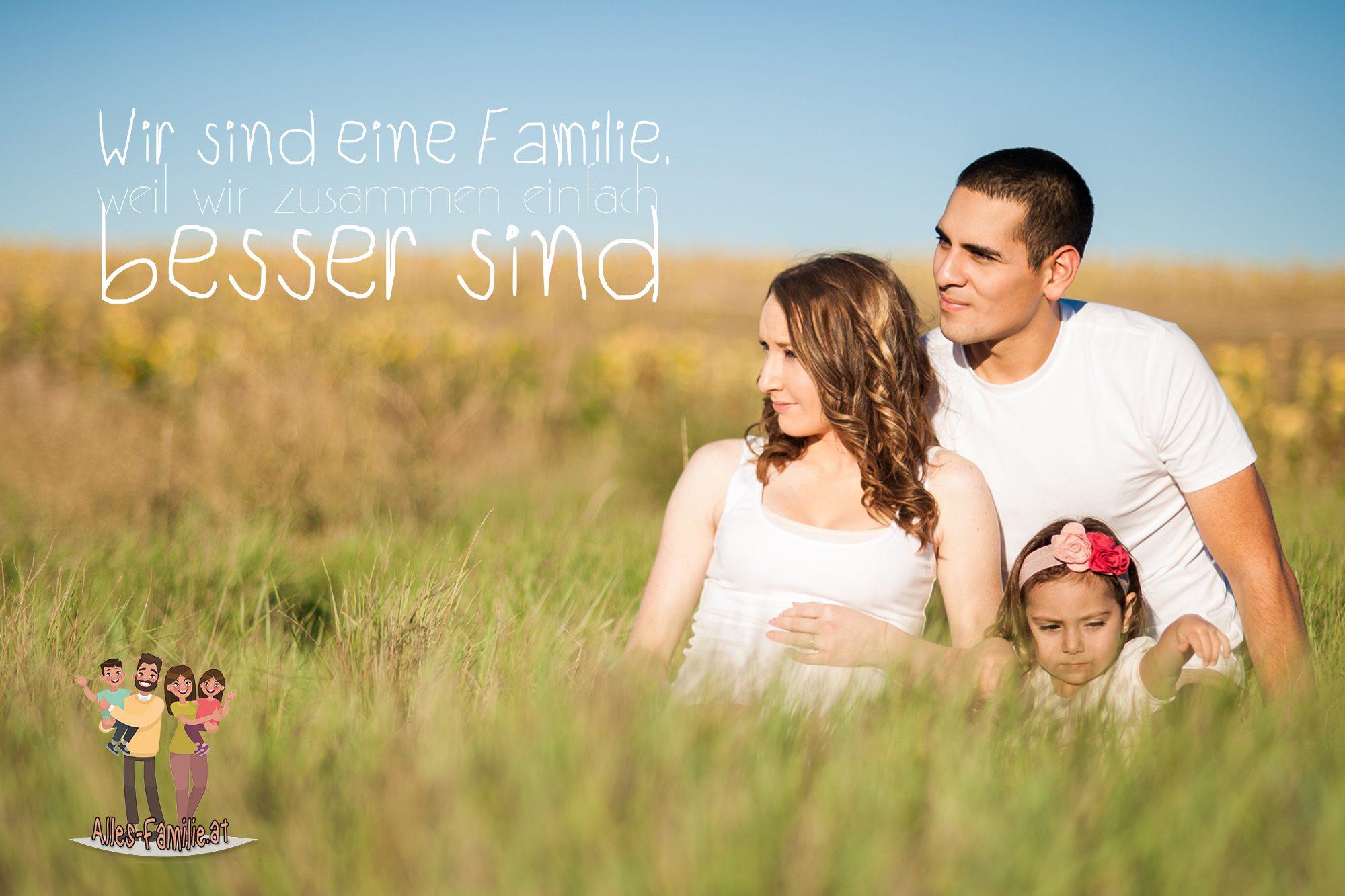 Wir sind eine Familie, weil wir zusammen einfach besser sind