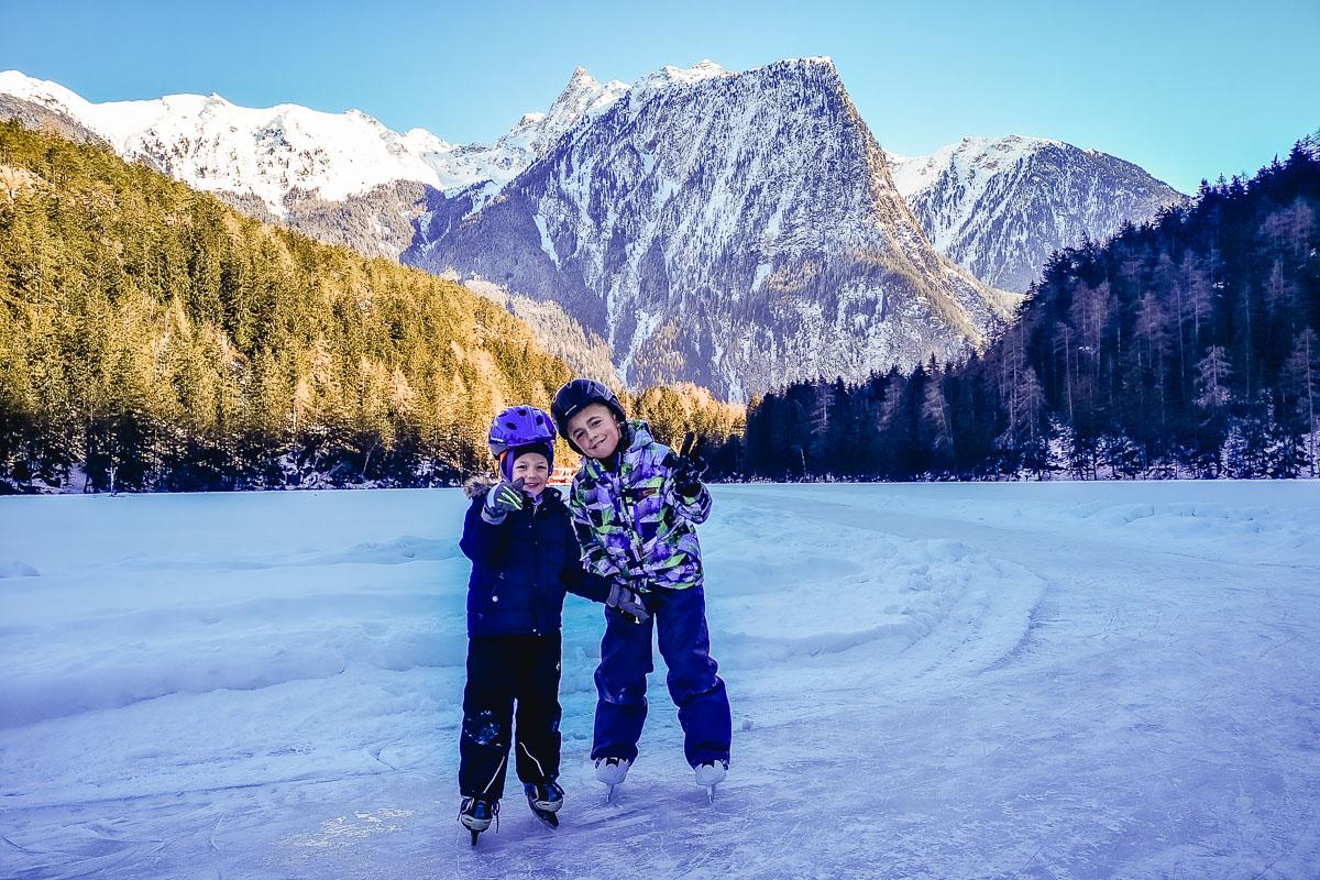 Piburger See – Traumhaftes Eislaufen am Naturjuwel im Ötztal