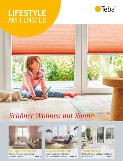 Teba Magazin - Lifestyle am Fenster 2017