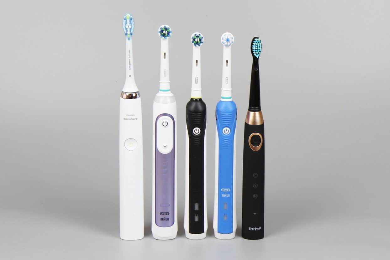 Elektrische Zahnbursten Im Test Faz
