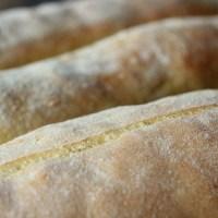 Baguette mit Hartweizengrieß {Baguette with durum wheat semolina}