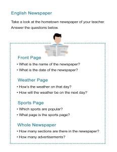 17 Hometown Newspaper