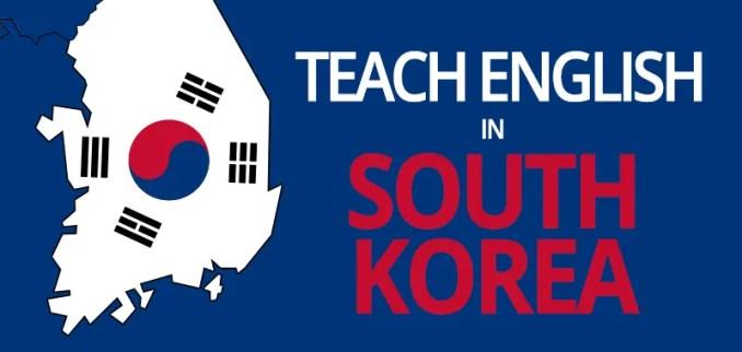 teach english south korea