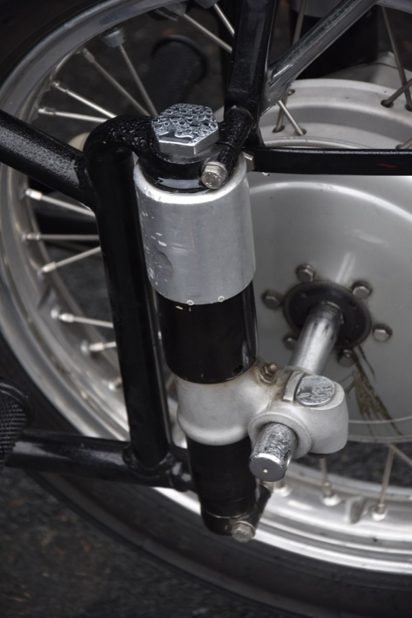 Motorfiets wegligging