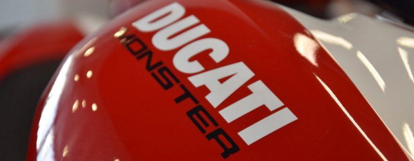 Motorvermogen van Ducati