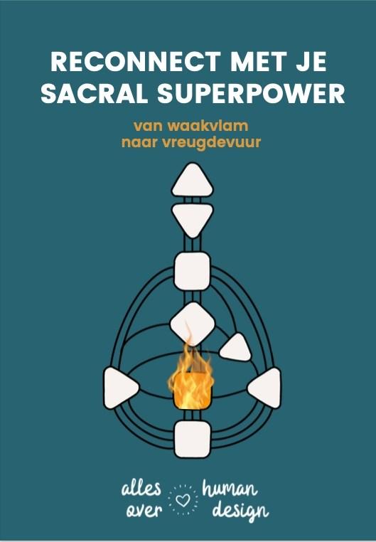 sacral superpower cursus voorkant