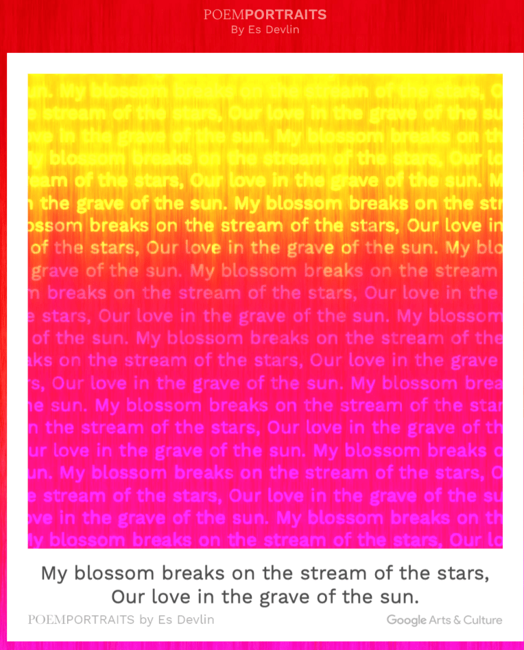 PoemPortraits - blossom