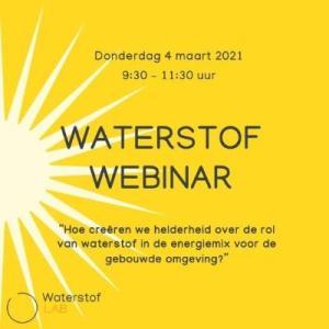 Interactief Webinar: Waterstof in de energiemix voor de gebouwde omgeving @ Webinar