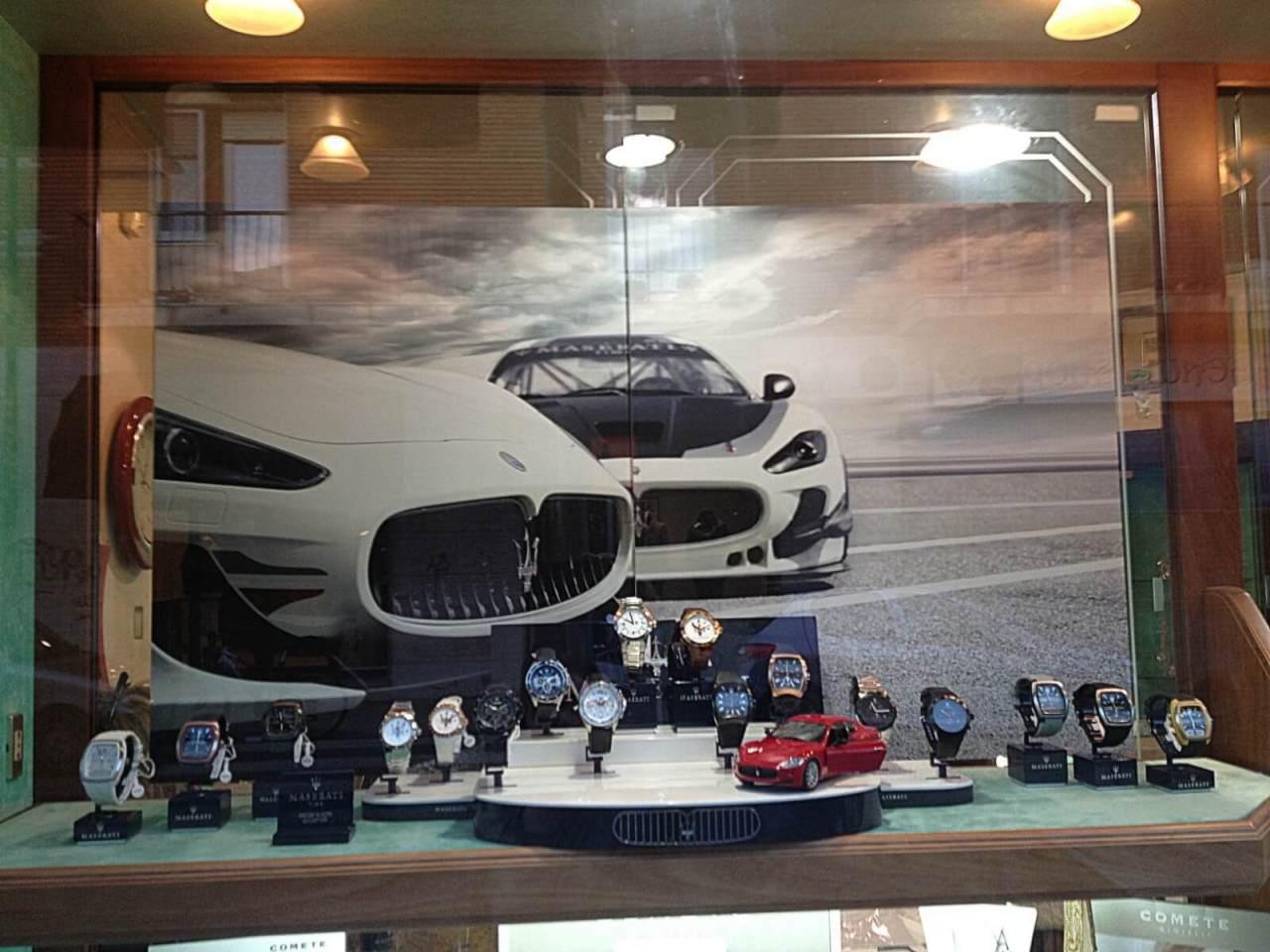 Maserati Orologi interni 2