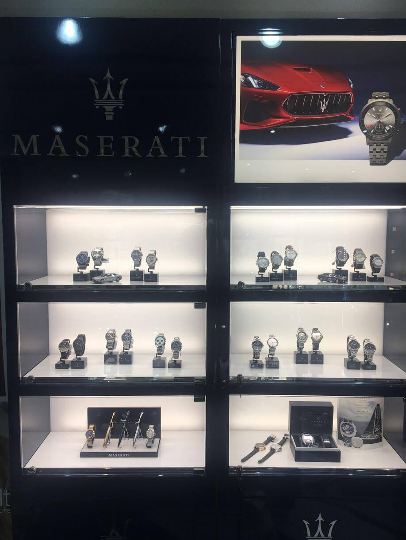 Maserati Orologi interni