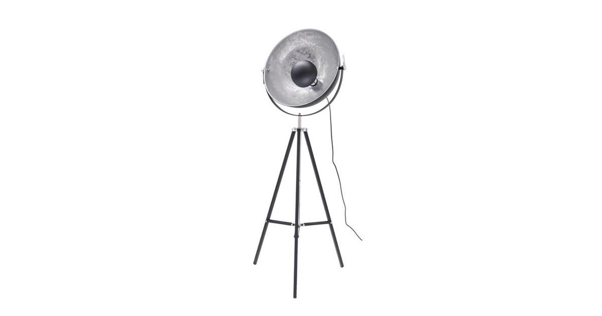 Groenovatie Nice Industrieel Design Tripod Vloerlamp Zilver Zwart