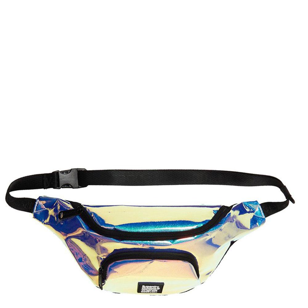Superdry Holo Glitter Bum Bag Blue