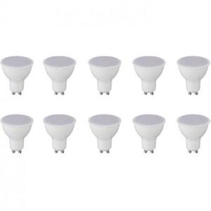 LED Spot 10 Pack - GU10 Fitting - 8W - Warm Wit 3000K