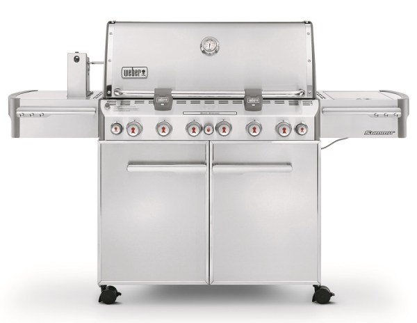 Weber Summit S-670 GBS System Edition RVS