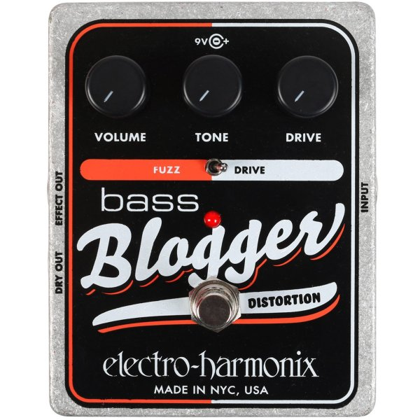Electro Harmonix Bass Blogger Overdrive Distortion effectpedaal