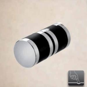 Sealskin Multi-S 4000 pendeldeur 850 mm br 1950 mm hg (voor comb. met zijwand, gemonteerd op een vloer - glas midden) mat zilver semi-gesatineerd glas