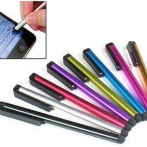 2x Ultra Light Stylus Pen Universeel HTC One/iPhone 5S/iPhone 4S/Samsung Galaxy/Xperia Z1/iPad 2,3,4 Air Mini / Galaxy Tab zIlver